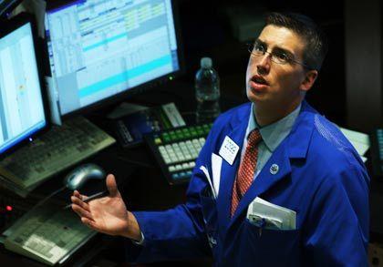 Schwache Konjunkturdaten: An den US-Börsen geht es abwärts