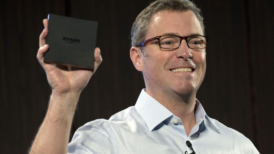 Amazon-Manager Larsen: Die neue TV-Box hat einen Quadcore-Prozessor