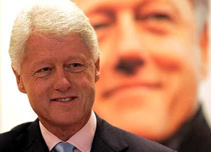 Ex-Präsident Clinton: Demokrat mit einer Kombination aus Missmanagement und Unentschlossenheit