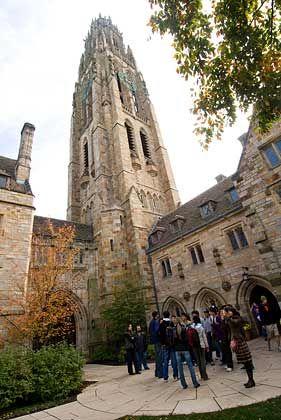 Campustour in Yale: Die Führungen über das Uni-Gelände sind auch für Touristen interessant