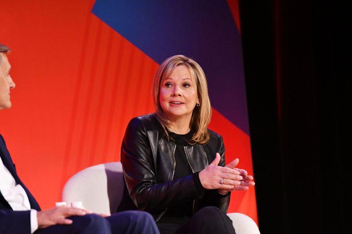 Mary Barra, CEO von General Motors, beschäftigt sich intensiv mit dem Klimawandel