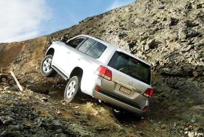 Nicht mehr so gefragt: Große Geländewagen wie der Toyota Landcruiser