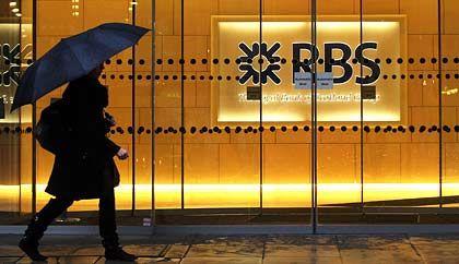 Schützender Schirm: RBS bittet ein weiteres Mal den Staat um Hilfe