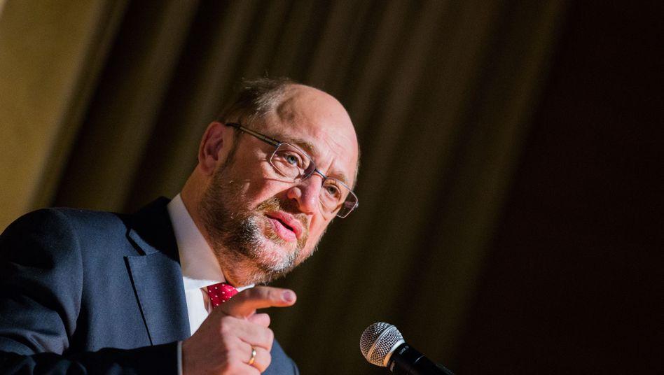 """Präsident des Europa-Parlaments Schulz: """"Können nicht so tun, als sei alles im Normalzustand"""""""