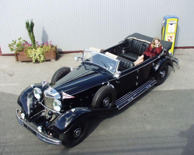 Ehemaliges Mirbach-Exponat: Mercedes-Benz 540K, einst Paradewagen der Nazi-Größen