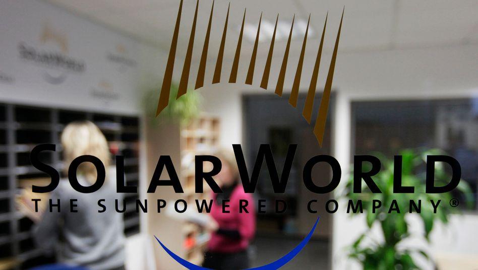 Solarworld-Standort in Freiberg: Das Unternehmen hat einen Schuldenberg von einer Milliarde Euro angehäuft