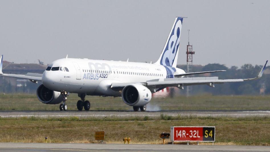 Airbus A320neo: Die Corona-Krise hat den Flugzeugbauer schwer getroffen