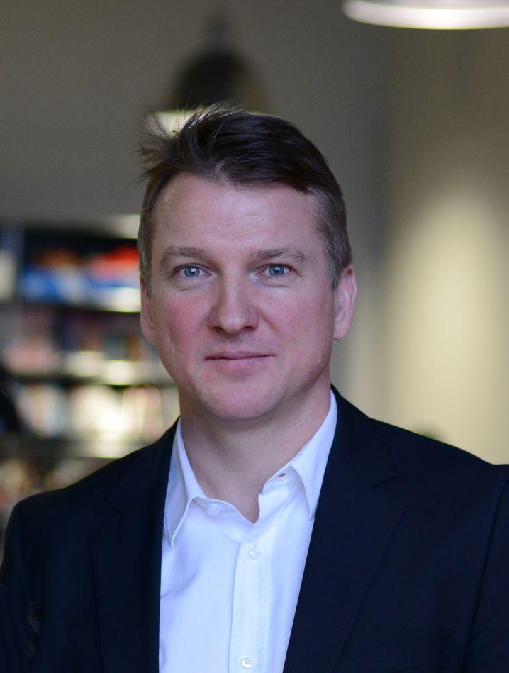 Danilo Lange leitet die Werbeagentur Serviceplan Russland
