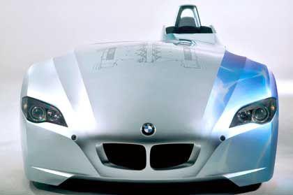 BMW H2R: Rasante Geschwindigkeit mit Wasserstoff-Antrieb