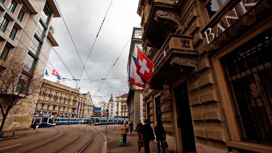 Bankenviertel in Zürich: Bankgeheimnis in internationaler Kritik