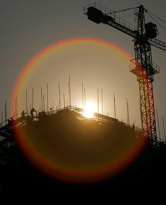 Sonnige Aussichten: Für die Weltwirtschaft geht es laut Ifo aufwärts