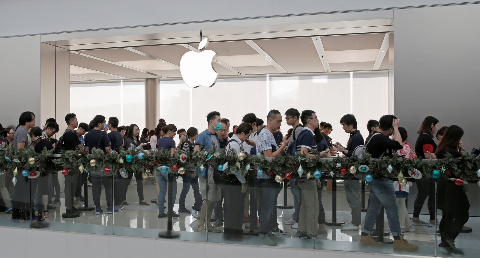 Großes Interesse an iPhone X in China