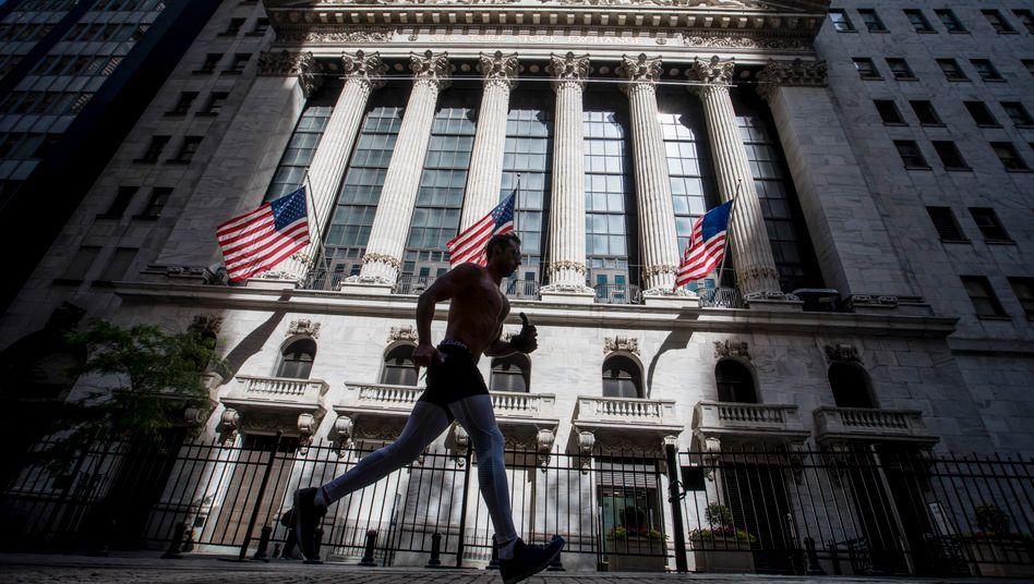 """""""There is no alternative"""": Die Wall Street erlebt in diesem Sommer den TINA-Effekt."""