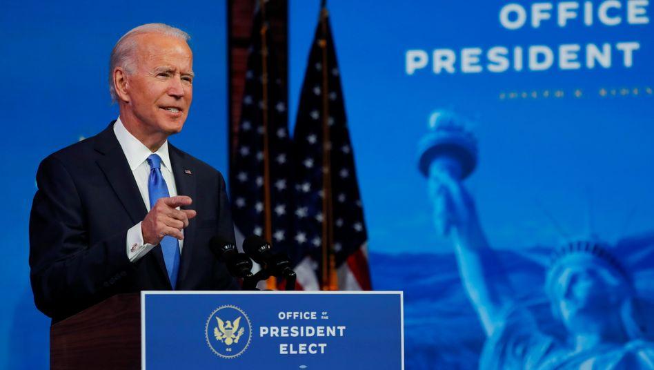 Als nächster US-Präsident bestätigt: Joe Biden