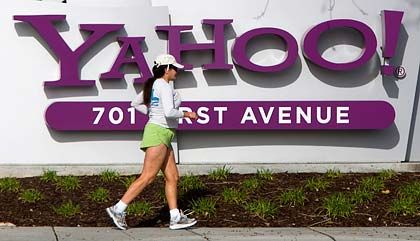 In Bewegung: Yahoo befindet sich mitten im Umbruch