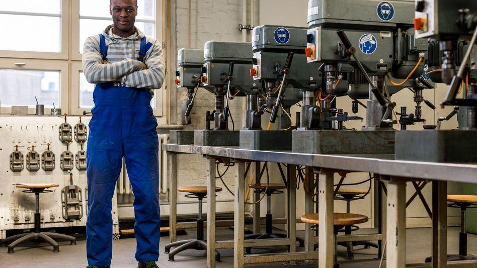 Auszubildender aus Großbritannien bei Siemens: Bundesregierung forciert Jobangebote für Jugendliche außerhalb Deutschlands
