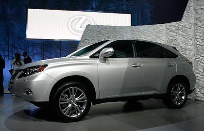 Nur gucken, nicht kaufen: Die Produktion des Lexus wird eingeschränkt