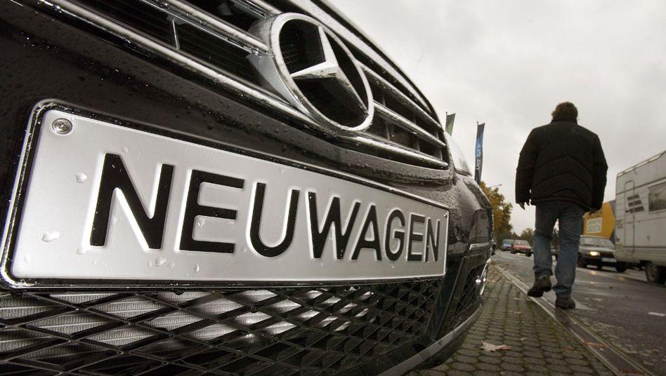 Hohe Rabatte: Autoverkauf nach Expertenmeinung zuletzt in Deutschland schleppend