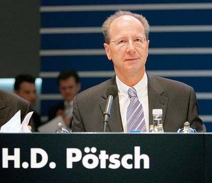 Darf bleiben: VW-Finanzchef Pötsch