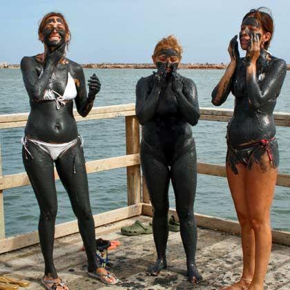 Verschlammt wie die Römer:Schon in der Antike wusste man um die heilende Wirkung des Meeresschlicks