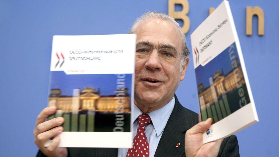 OECD-Generalsekretär Gurría: Nicht auf Lorbeeren ausruhen