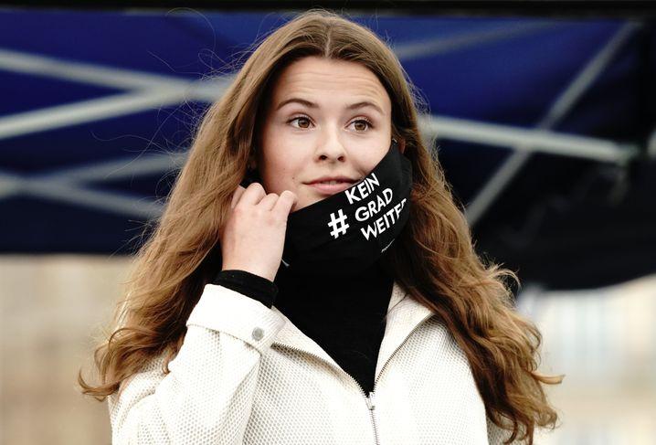 Grüner Engel: Aktivistin Luisa Neubauer klagte erfolgreich vor dem Bundesverfassungsgericht