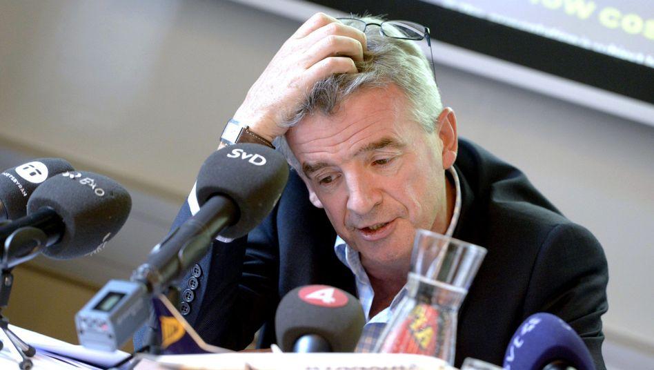 Ryanair-Chef O'Leary: Rückschläge nach Jahren des Höhenflugs
