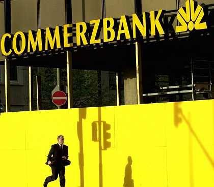 Gute Geschäftszahlen und Dax-Stütze: Commerzbank-Aktien zählten heute zu den stärksten Werten