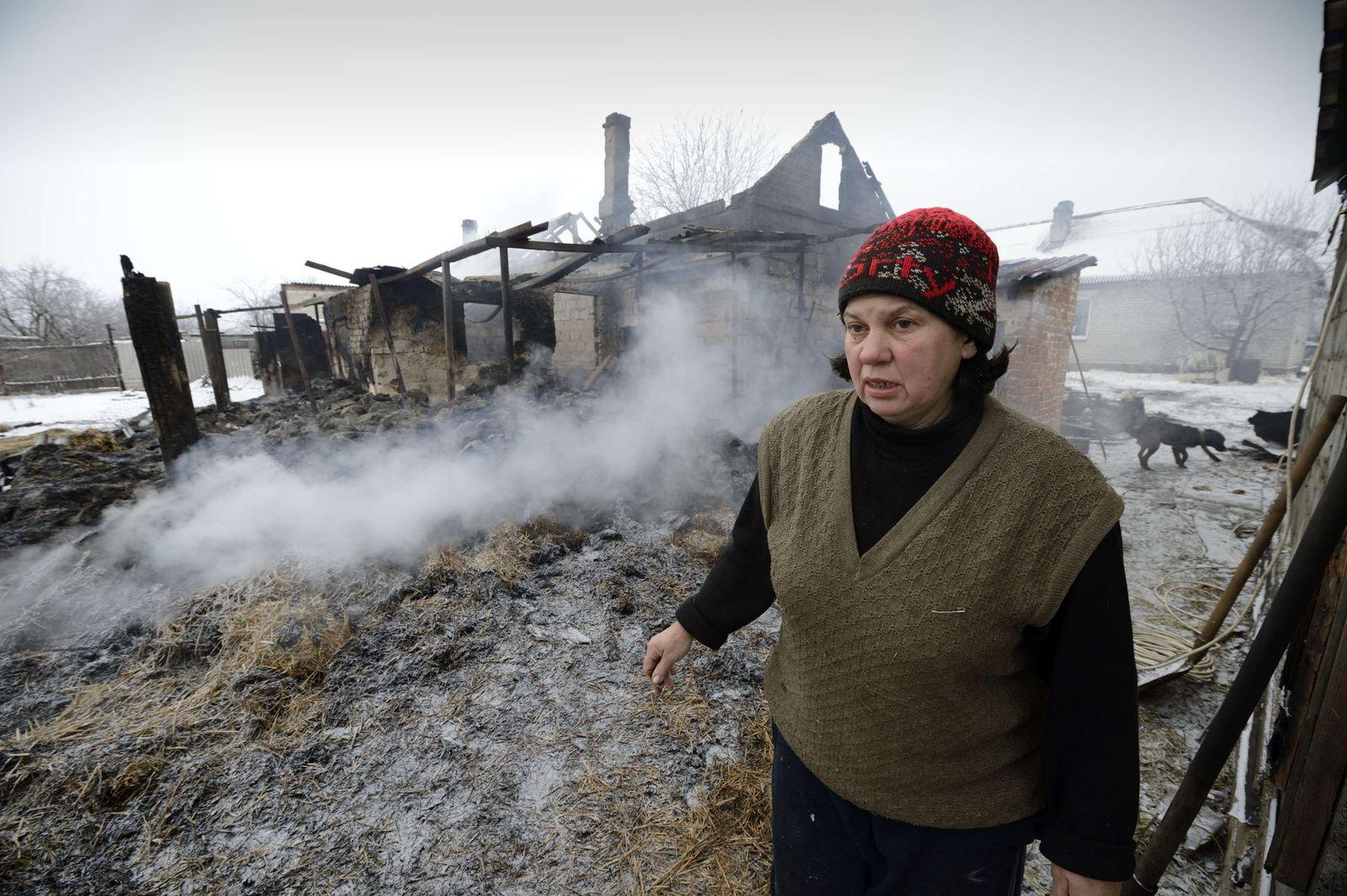 Ukraine/ Zerstörung