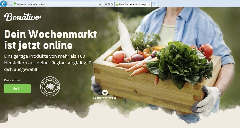 Tengelmann gibt Geld: Bonativo liefert Lebensmittel aus der Region und ist seit Jahresbeginn in der Region Berlin am Start