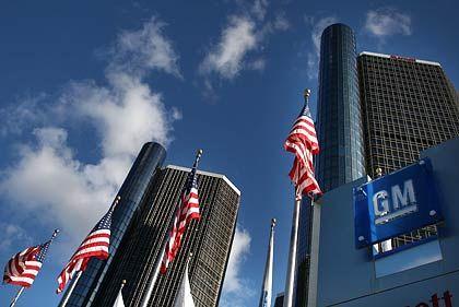 GM-Zentrale in Detroit: Gläubigerschutz statt Hilfspaket vom Staat?