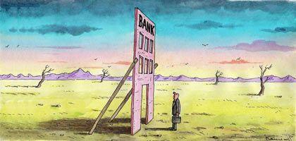 """Alles nur Fassade: Wenn die Insolvenz droht, könnte das Management """"die Bank plündern"""""""