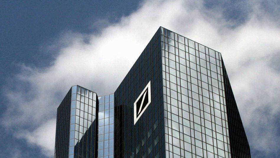 Zentrale der Deutschen Bank: Die Quartalszahlen des Branchenprimus boten eine positive Überraschung