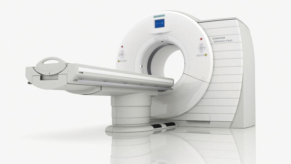 High-Tech-Sparte in der Krise: Computertomograph von Siemens
