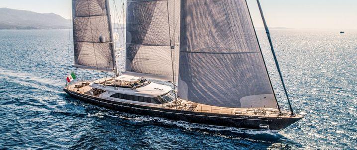 Luxus für die Gäste: Dreimaster Seven
