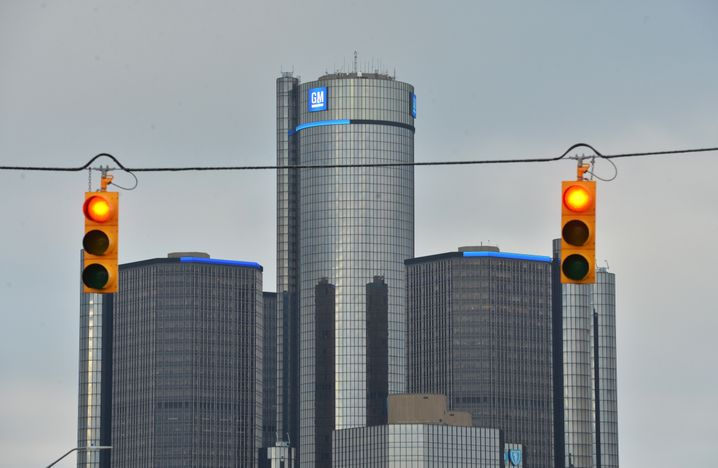 GM-Zentrale in Detroit: Wegen der Rückrufe hat der Konzern 1,3 Milliarden Dollar zurückgelegt