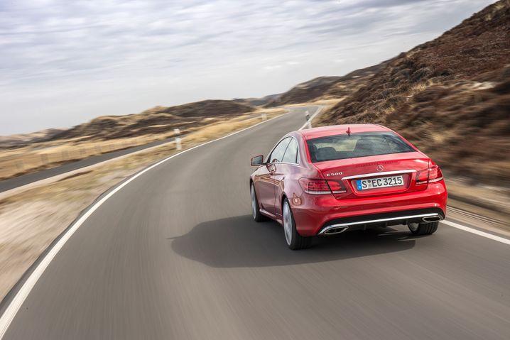 Mercedes E-Klasse: Nach längerer Absenz wieder in den Top 20