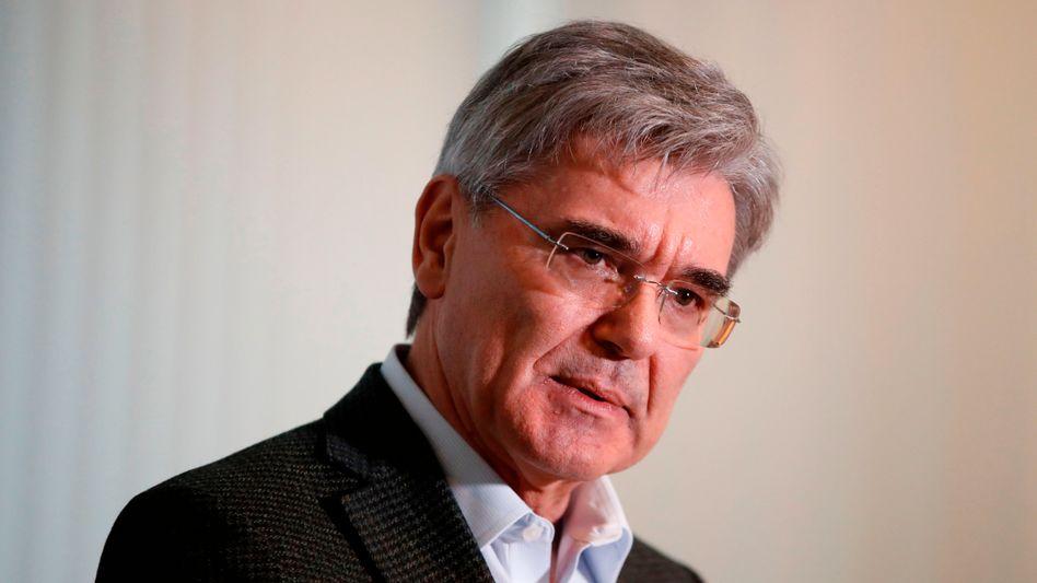 """""""Das neueSiemensist hervorragend aufgestellt, um die gewaltige industrielle Transformation zu gestalten"""": Siemens-Chef Joe Kaeser"""