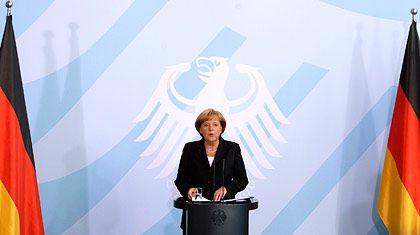 """Kanzlerin Merkel: """"Wir haben heute einen ersten Baustein für eine neue Finanzmarktverfassung beschlossen"""""""