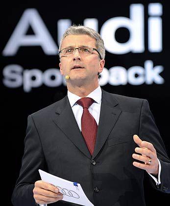 Aus dem Schatten getreten: Audi-Chef Rupert Stadler