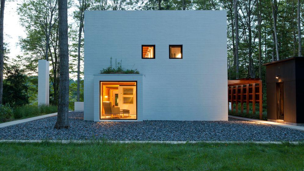 Architektur: Traumhaus am Michigan-See