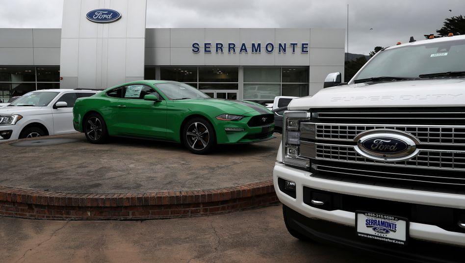 Ford-Händler in Kalifornien