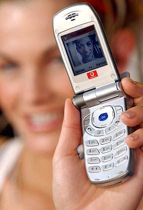 Vodafone UMTS-Handy: Der britische Mobilfunkanbieter bietet bereits Mobile TV an
