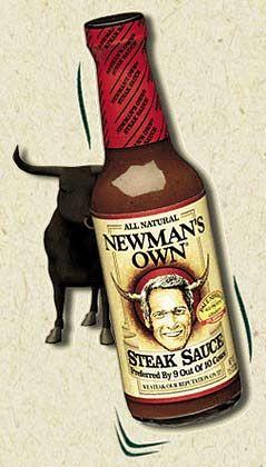 Hollywood-Gesicht auf Steaksoße: Seit 20 Jahren betreibt Paul Newman eine eigene Firma.