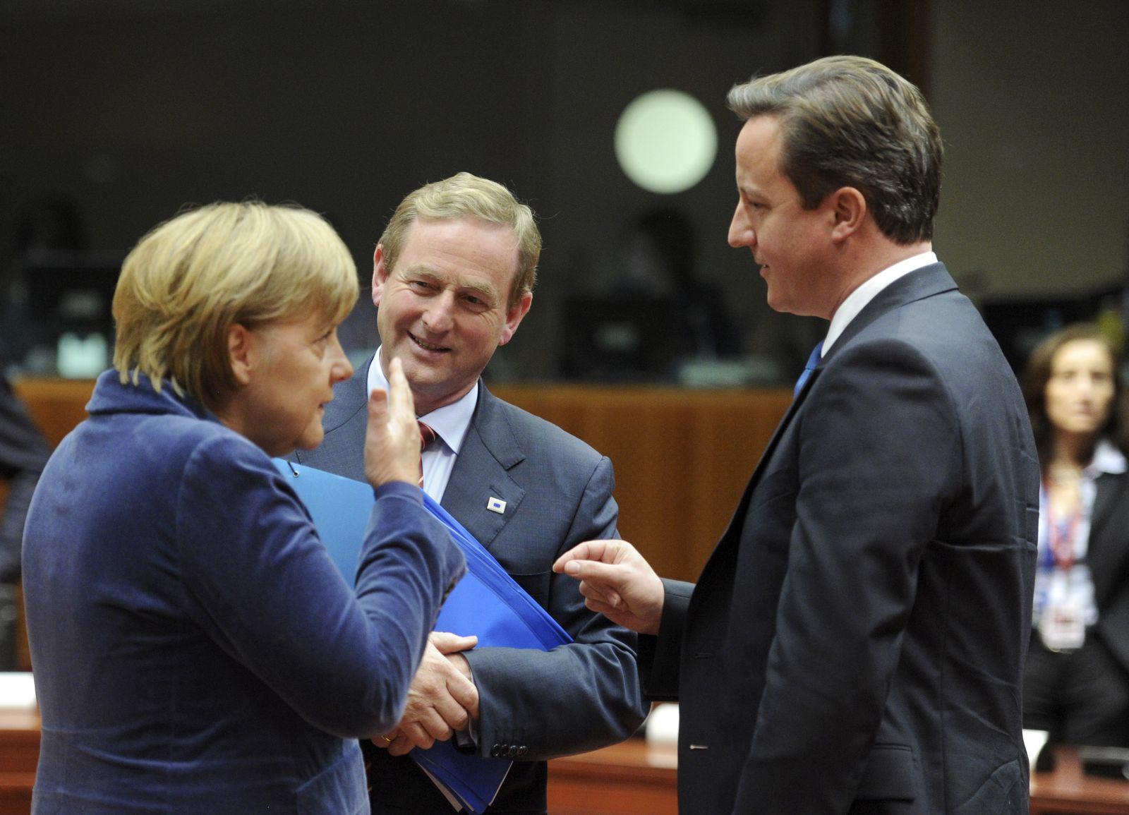 Brüssel Merkel Cameron