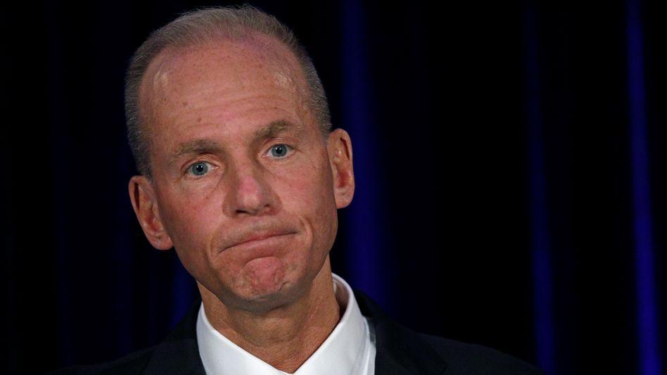 Vorläufig keine Boni: Boeing-Chef Dennis Muilenburg