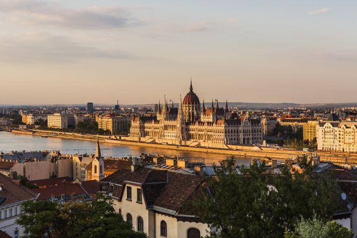 Blick auf Budapest: Ungarn legt hohe Wachstumsraten hin