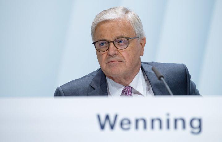 Werner Wenning: Scheidender Vorsitzender des Aufsichtsrats