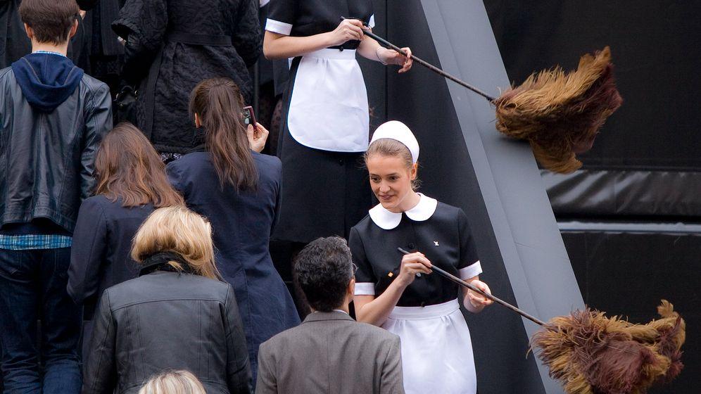 Modeschauen in Paris: Hinein ins Fetisch-Kabinett