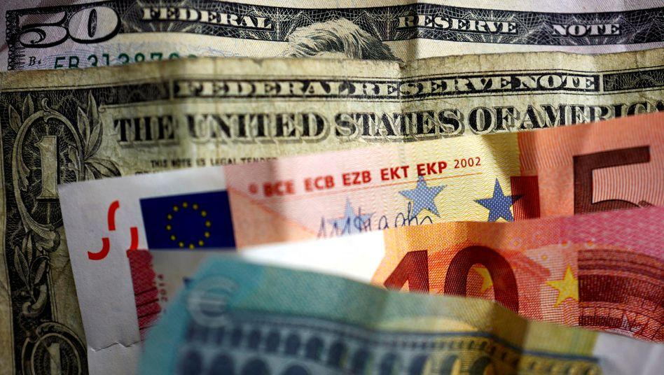 Euro: Größter Wochenverlust zum Dollar seit fast zwei Jahren